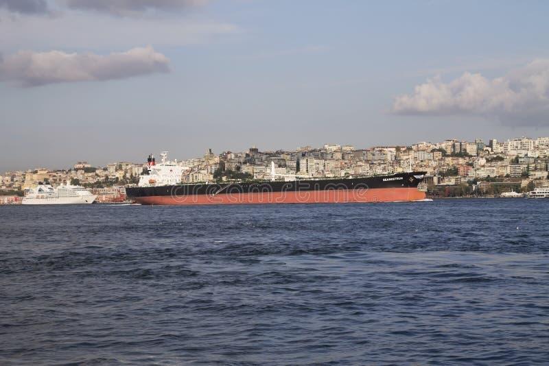 Crude Oil Tanker Editorial Stock Image
