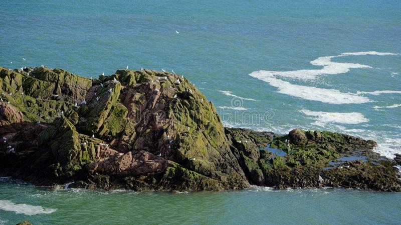 Cruden海湾 免版税图库摄影