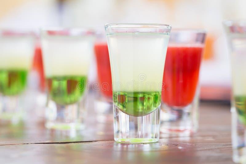 Crudo de bebidas del tiro fotos de archivo