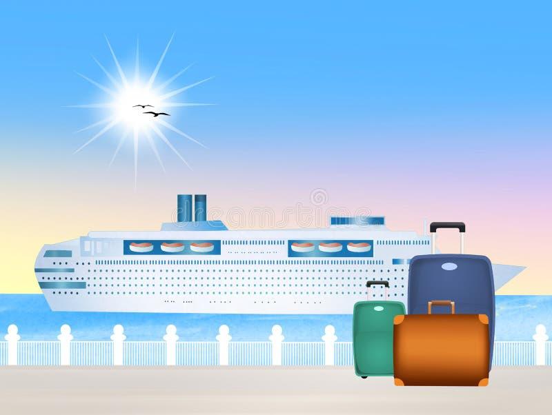 cruise illustration libre de droits