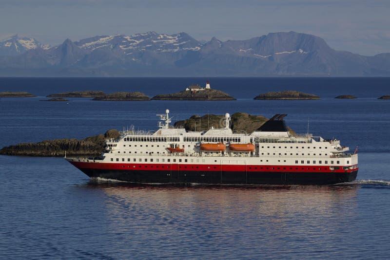 Cruise Along Norwegian Coast Royalty Free Stock Photography