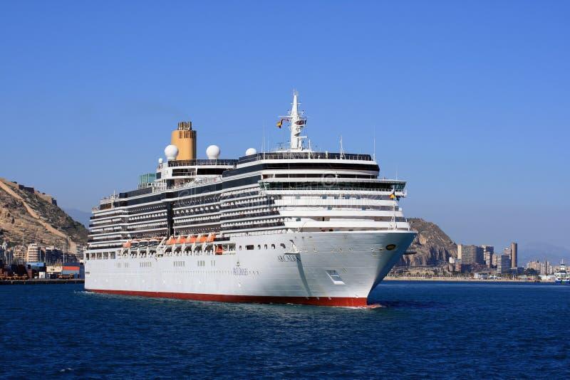 The cruise Arcadia royalty free stock photo