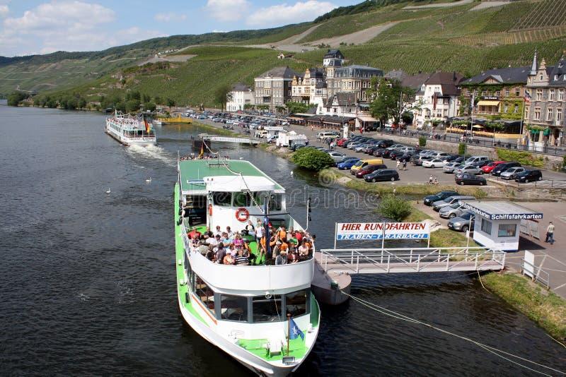 Cruise boat stock image