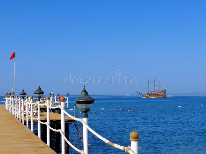 Cruise in de Middellandse Zee royalty-vrije stock foto
