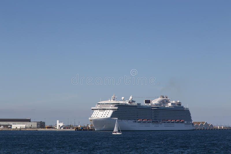 Cruise Liner Regal Princess royalty free stock photos