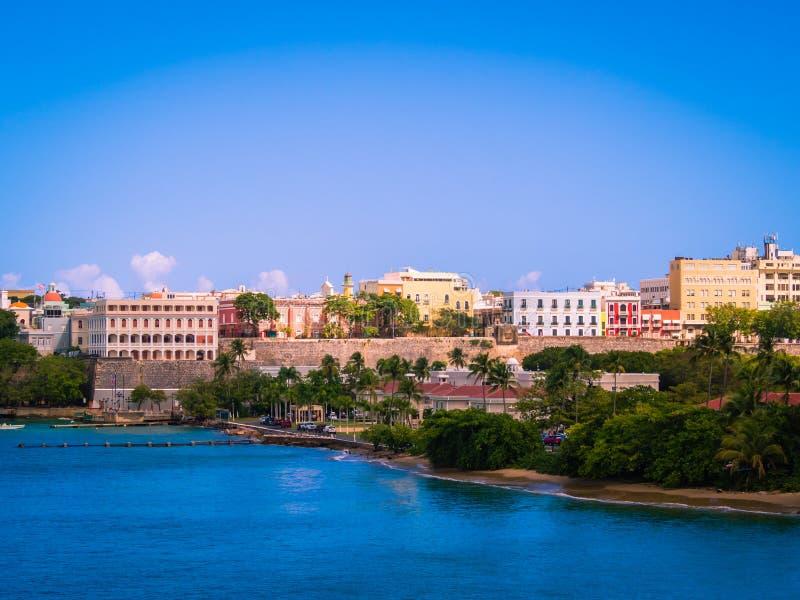 Cruise Port at San Juan Puerto Rico royalty free stock images