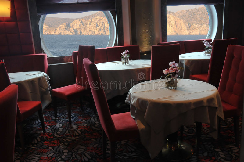 Download Cruise restaurant stock image. Image of sunny, vacations - 7099455