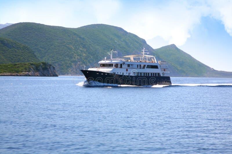 Cruise-schip royalty-vrije stock afbeeldingen