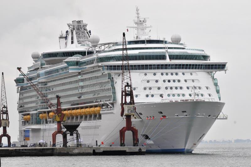 Download Cruise ship stock photo. Image of cruiseship, waterfront - 15269744
