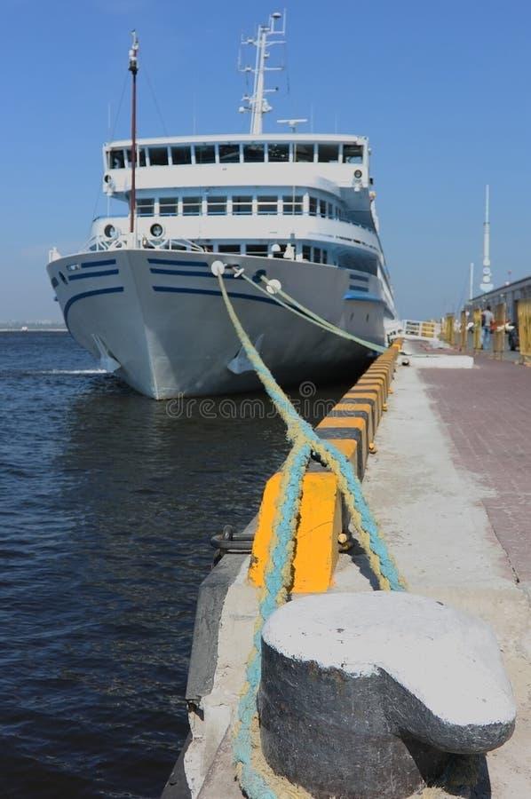 Download Cruise ship stock image. Image of part, break, pier, blue - 16108395
