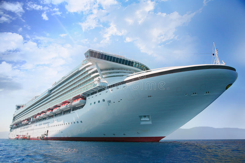 Cruise-ship stock images