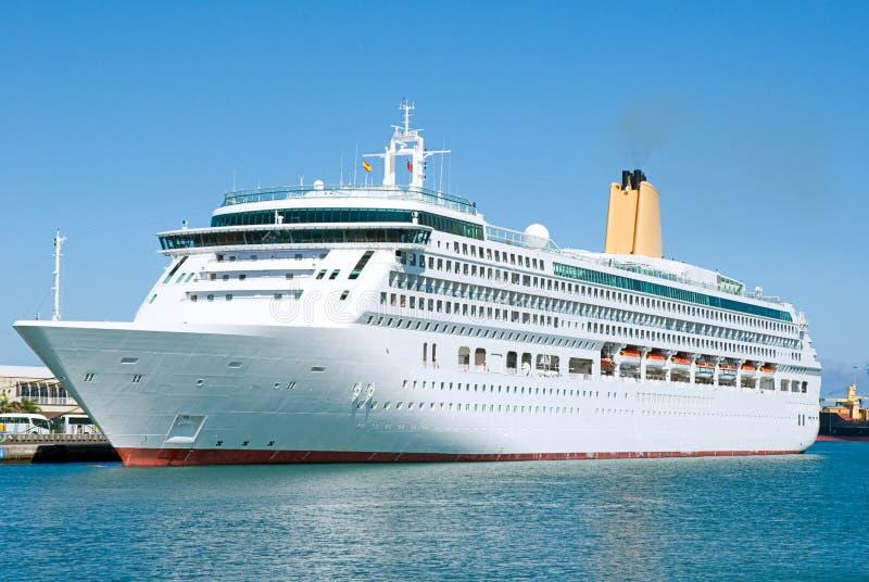 Cruise-ship. Elegant Cruise ship visiting Las Palmas, Spain