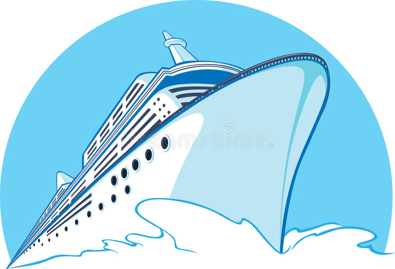 Download Cruise Ship stock vector. Illustration of tourism, getaway - 27907355