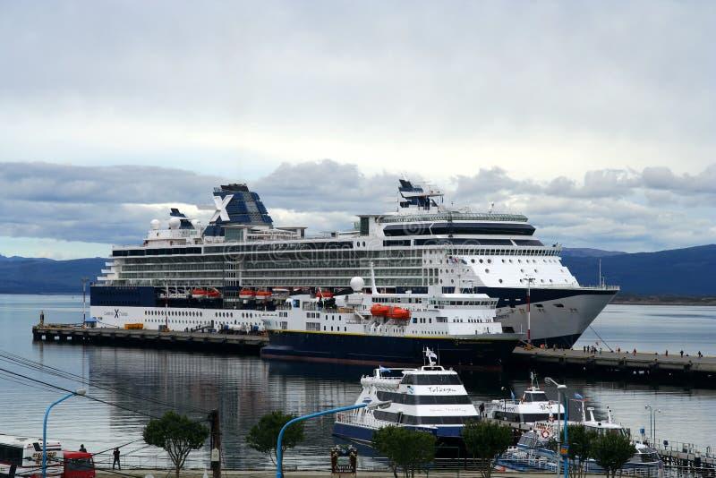 Cruise Ship Editorial Stock Photo