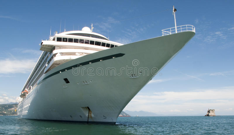 Download Cruise ship stock photo. Image of vessel, tied, water - 9769418