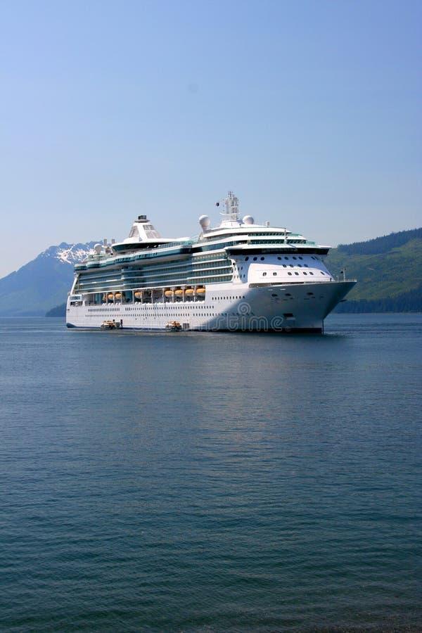 Cruise ship, Alaska royalty free stock image