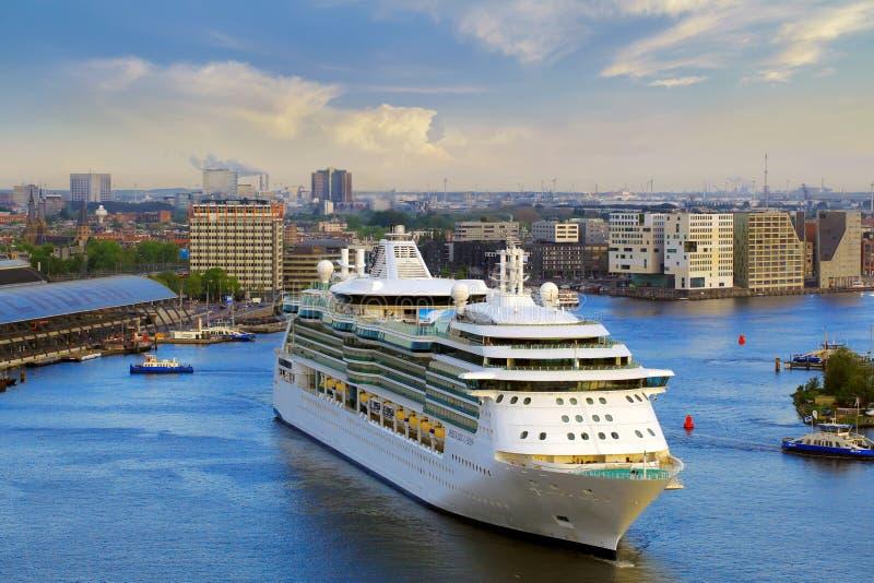 Cruise Ship In Amsterdam Editorial Stock Photo Image Of Dutch - Amsterdam cruise ship