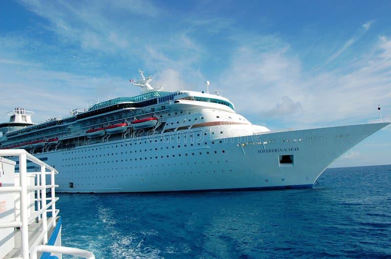 Cruise Ship, Soveriegn Of The Seas stock photos