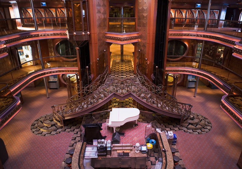 Download Cruise Ship Atrium stock photo. Image of room, travel - 5319674
