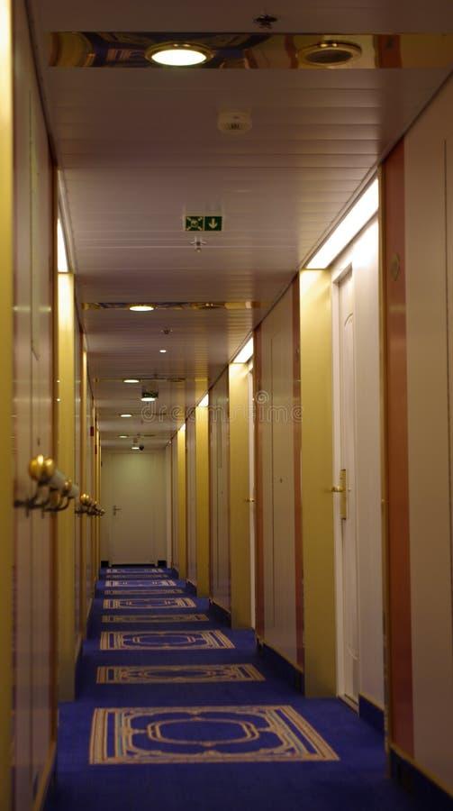 Cruise ship cabins royalty free stock photos