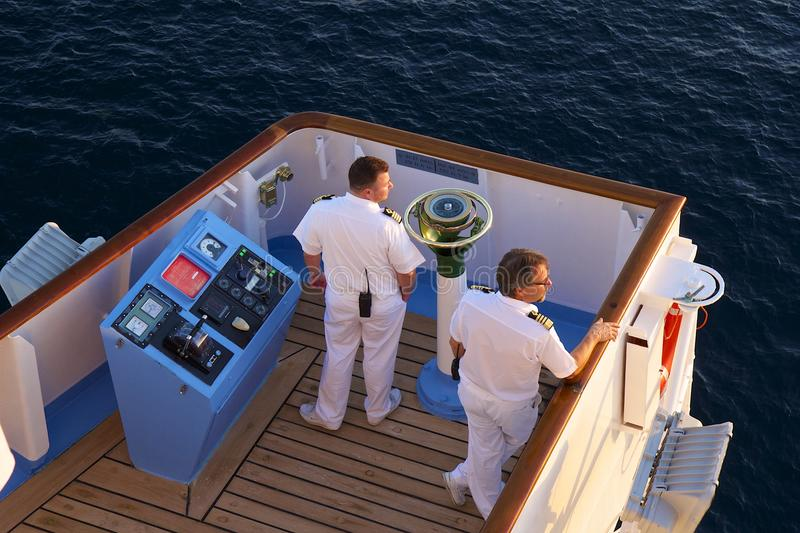 Cruise Ship Captain Editorial Stock Image Image Of Service - How to be a cruise ship captain