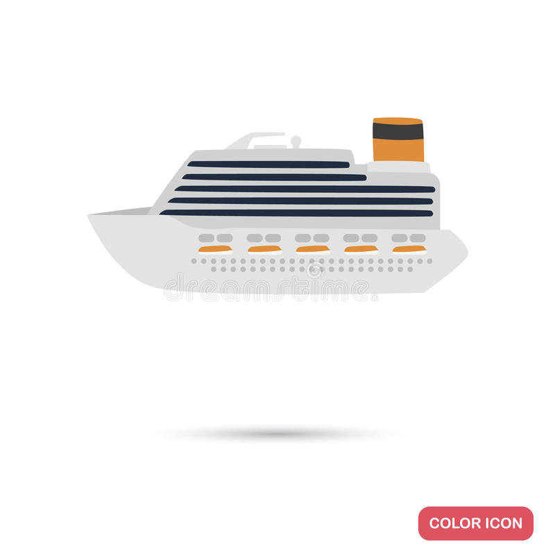 A Huge Cruise Liner Vehicle For Travelling Over Long Distances To A