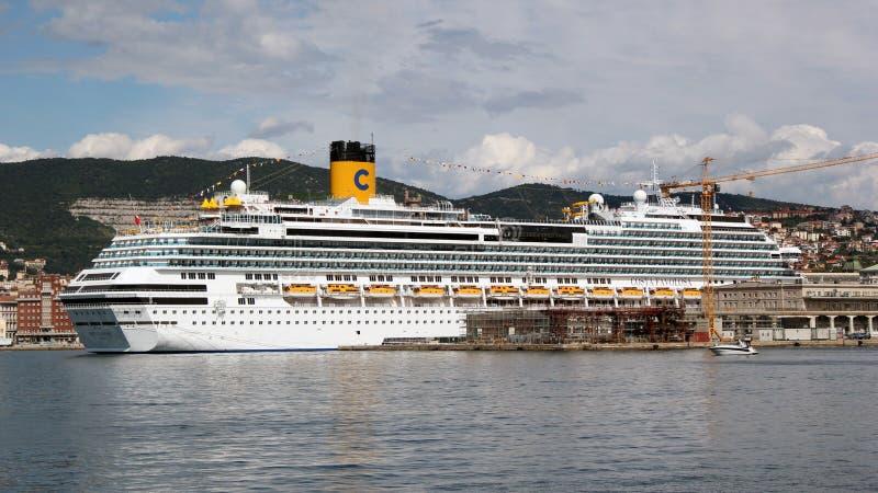 Cruise ship Costa Favolosa royalty free stock photography