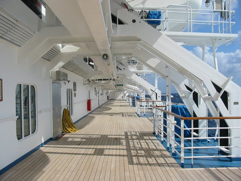 Download Cruise Ship Deck stock photo. Image of cruise, vacation - 301330