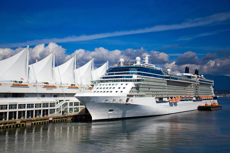 Cruise Ship Vancouver Canada Stock Photo - Image of summer ...