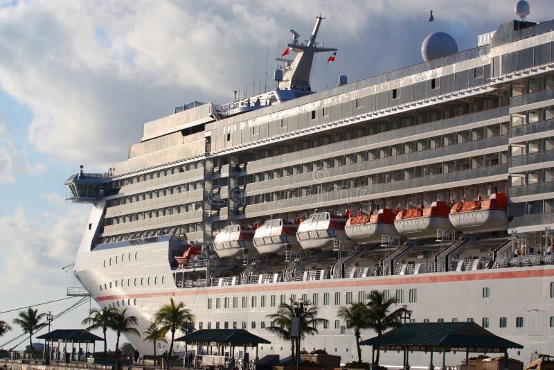 Download Cruise Ship docked stock photo. Image of large, sleek - 19862612