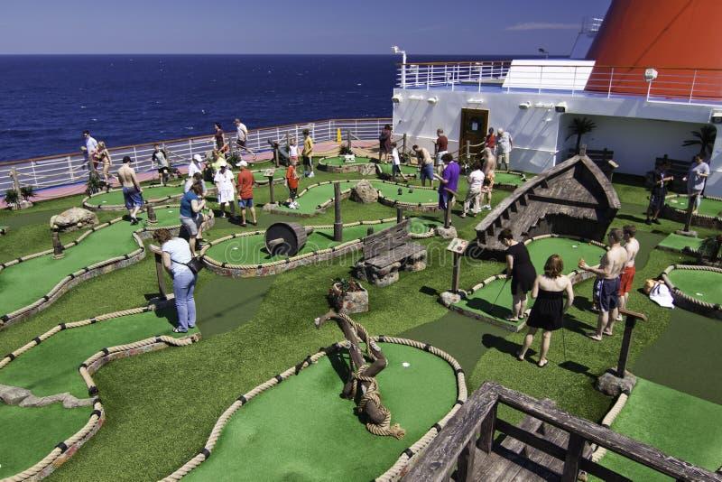 Download Cruise Ship Fun - Mini Golf At Sea Editorial Image - Image: 15887790