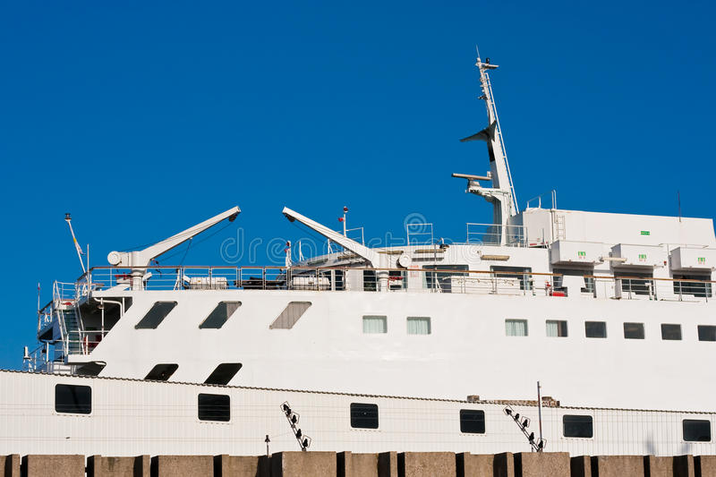 Download Cruise ship in harbor stock image. Image of marine, sailing - 12037415