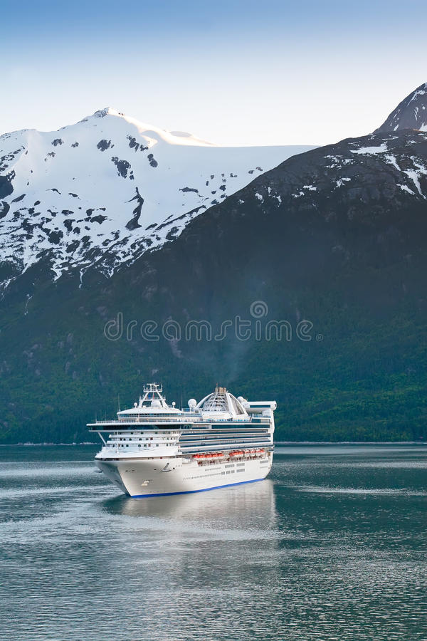 Download Cruise Ship In Inside Passage Stock Photo - Image: 26708124