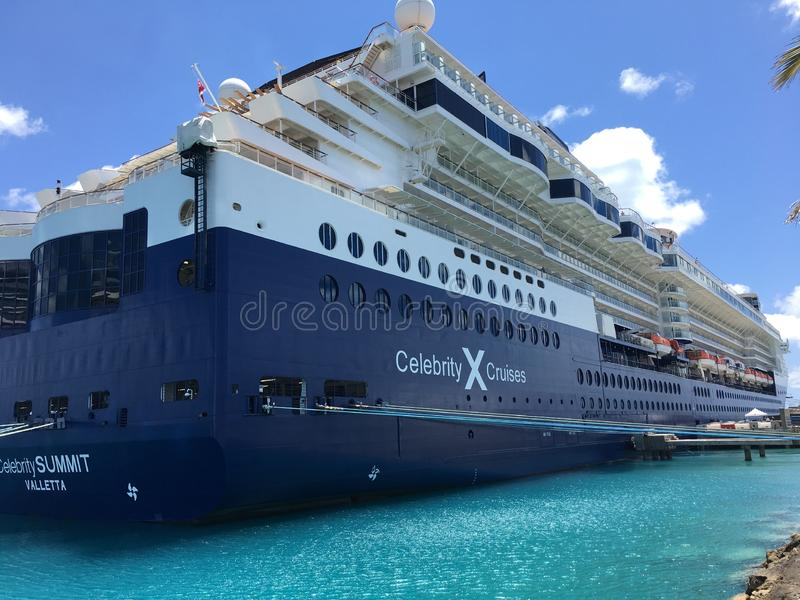 Cruise Ship. stock photos