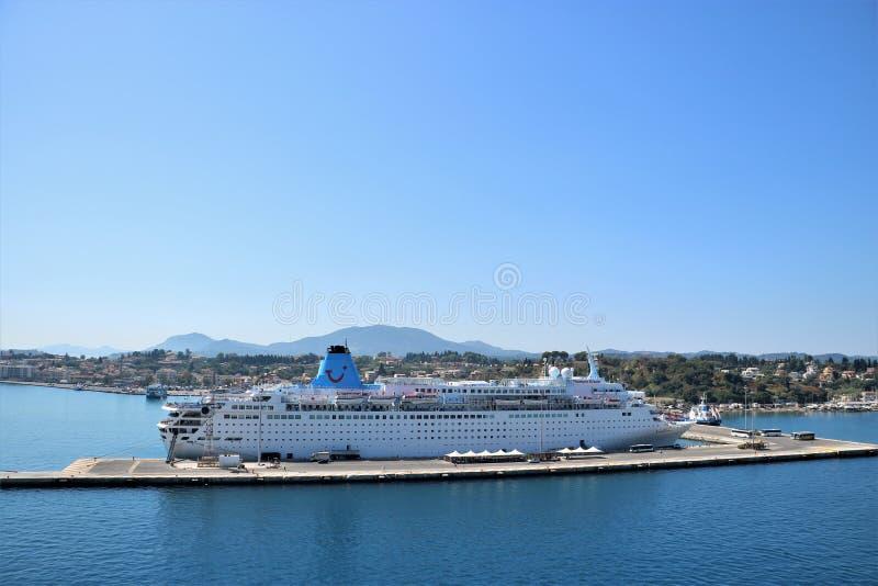 Cruise Ship MS Thomson Dream Editorial Photography Image - The thomson dream cruise ship