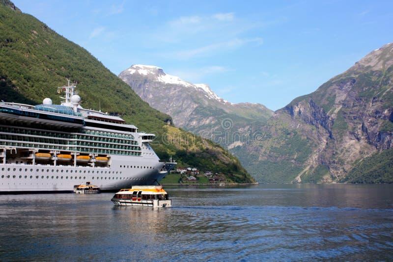 Cruise Ship In Norway Stock Photo Image Of Travel Geiranger - Cruise ship norway