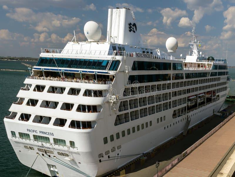 Cruise Ship Pacific Princess Hamilton Editorial Stock Photo - Cruise ship pacific