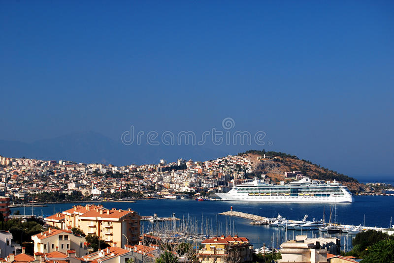 Download Cruise ship in port stock photo. Image of ship, boat - 16784640