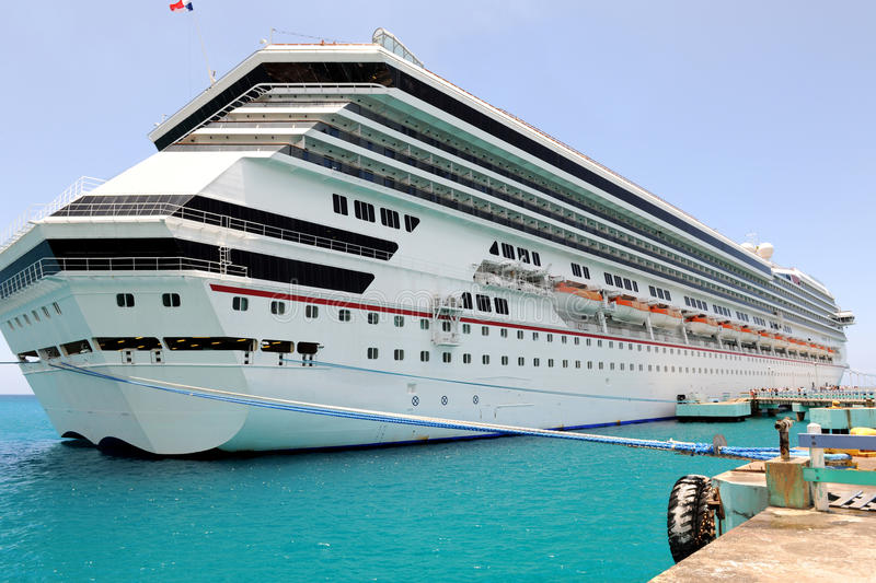 Download Cruise Ship at Port stock photo. Image of cruise, large - 23997820
