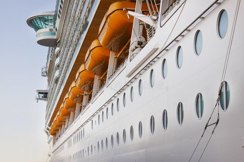 Cruise ship portholes royalty free stock photos