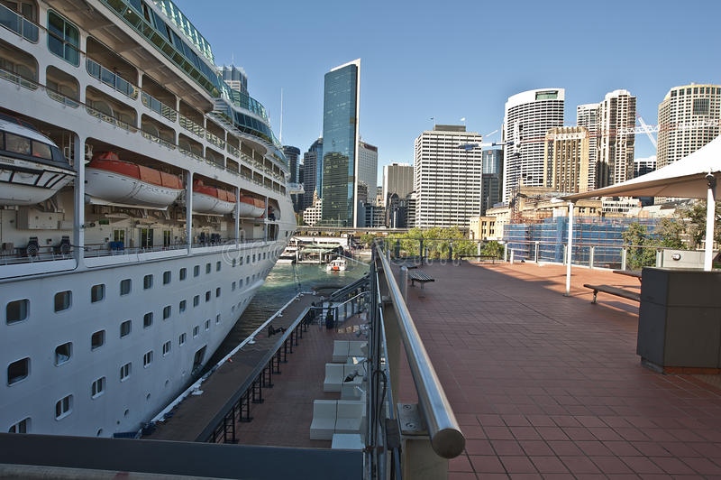 Download Cruise Ship At The Quay Editorial Stock Photo - Image: 18917323
