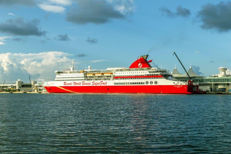 Cruise Ship Resorts World Bimini Editorial Photography Image Of - Bimini superfast cruise ship