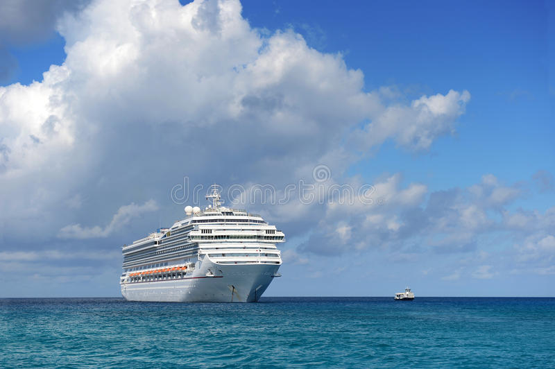 Download Cruise Ship at Sea stock photo. Image of travel, sunny - 32276718