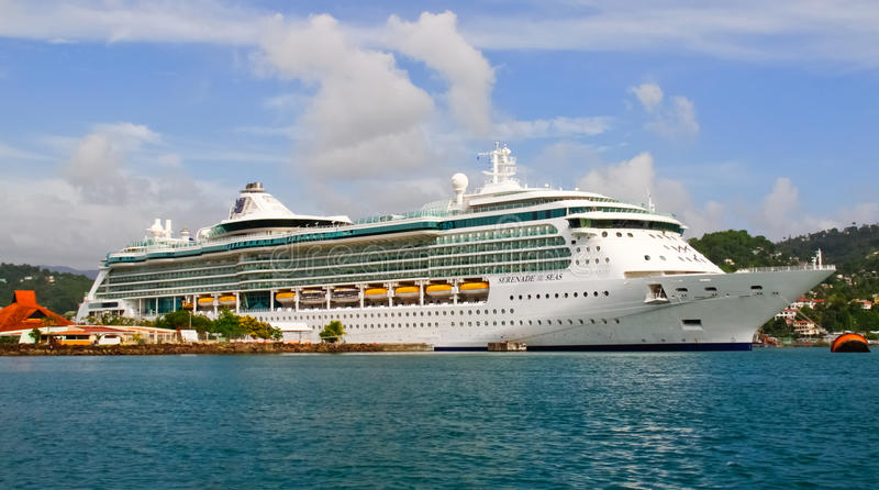 Download Cruise Ship Serenade Of The Seas In St. Lucia Editorial Photography - Image: 20400457