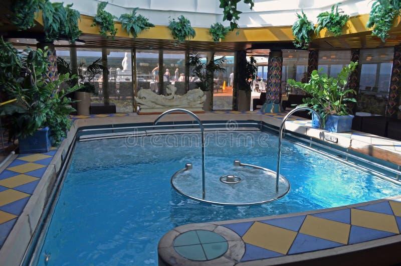 Cruise Ship Spa Pool royalty free stock photo