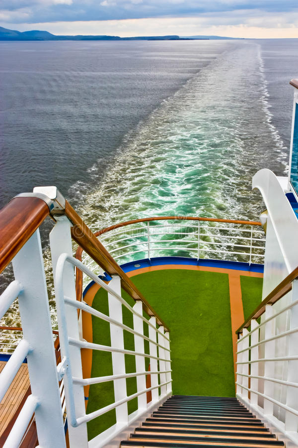 Download Cruise Ship Stern View stock photo. Image of stairs, british - 21156278