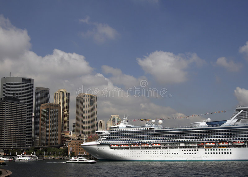 Download Cruise Ship In Sydney stock image. Image of luxury, cruise - 2067253