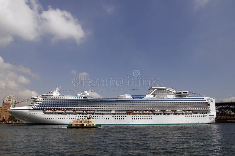 Download Cruise Ship In Sydney stock photo. Image of vessel, voyage - 2108256