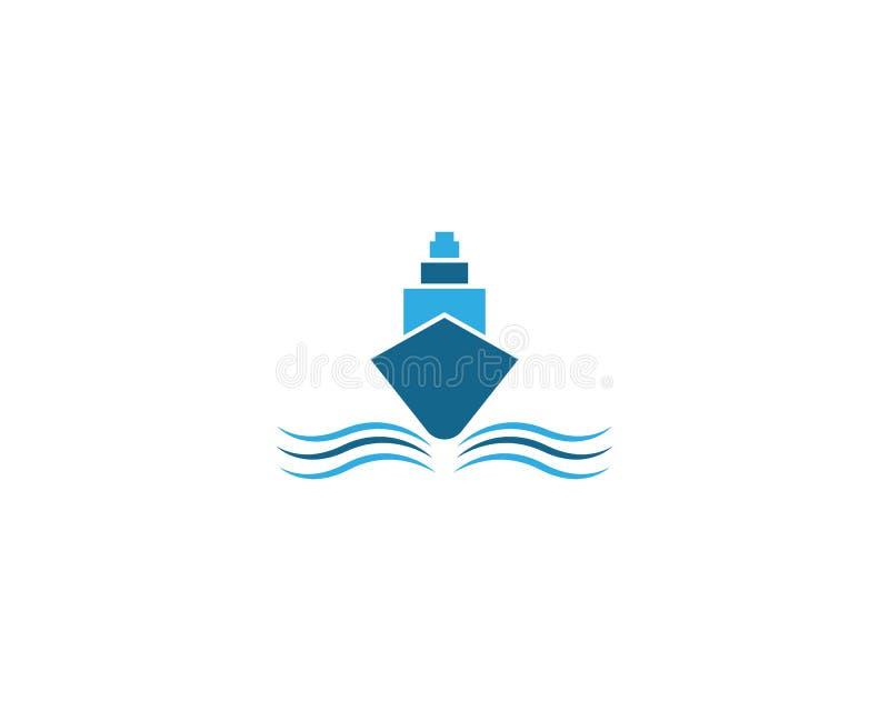 Cruise ship symbol illustration vector illustration