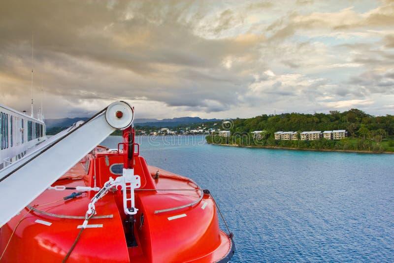 Cruise ship tender royalty free stock image